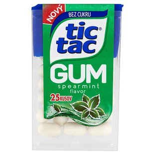 Tic Tac Gum Spearmint 25 ks 12,1 g